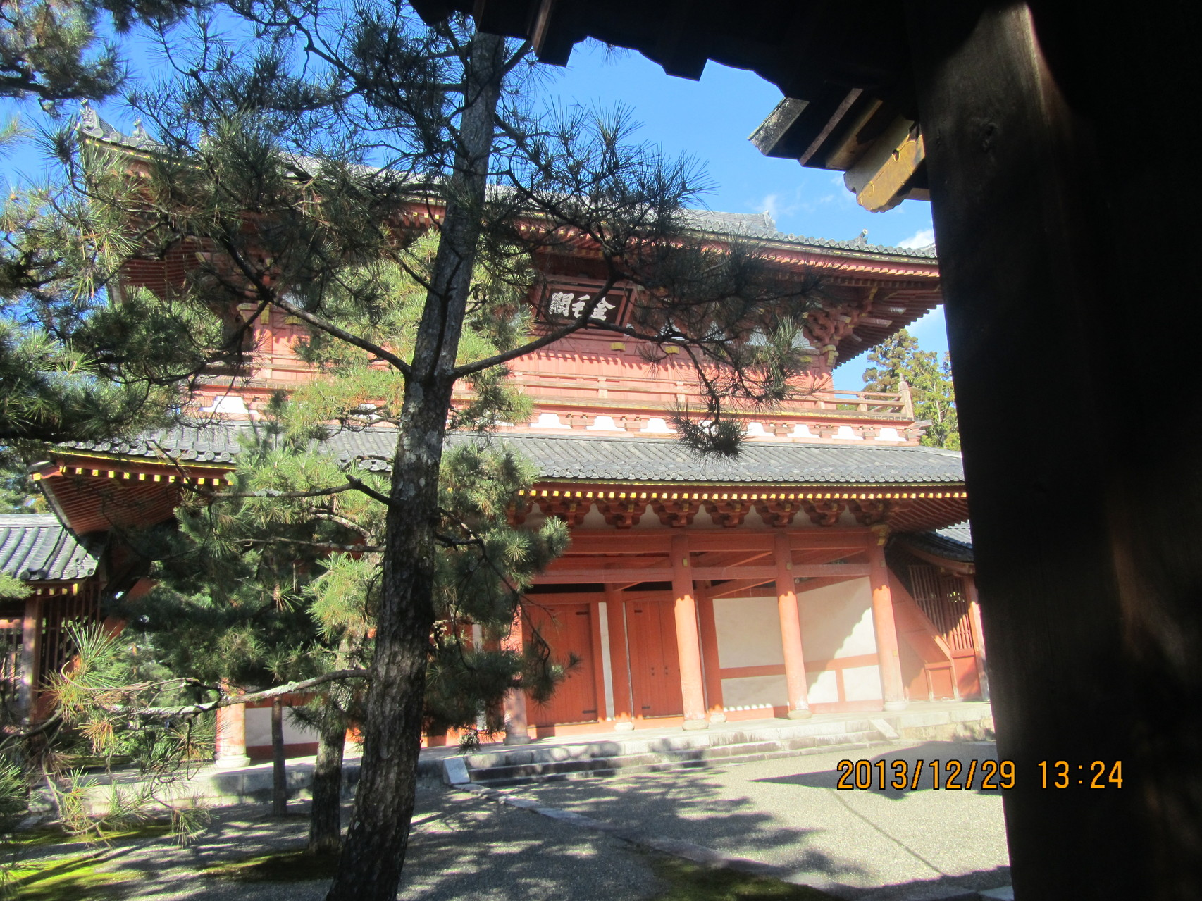 大徳寺の山門、金毛閣。