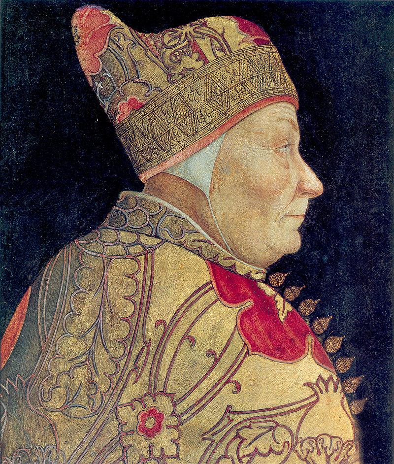 ヴェネツィア共和国の総督が被っていたコルノ・ドウカーレ(公爵の角)