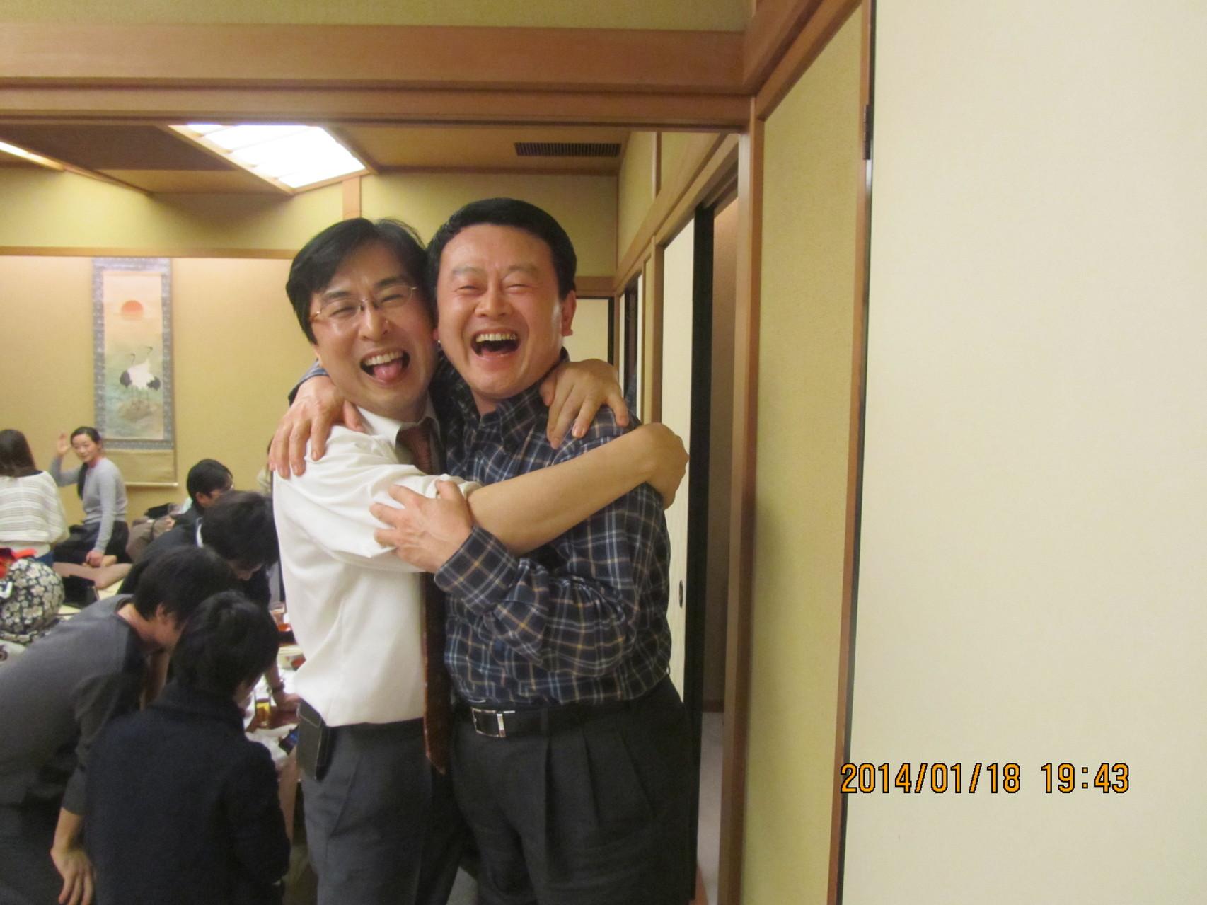 田邊教授は私より4歳若く、非常に気さくな方です。密接に連携を取りたいと思います。
