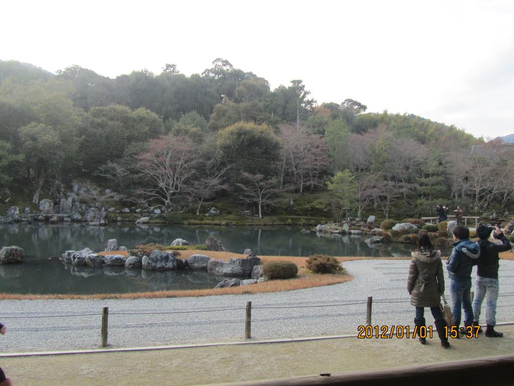 9.嵐山 天龍寺の庭園
