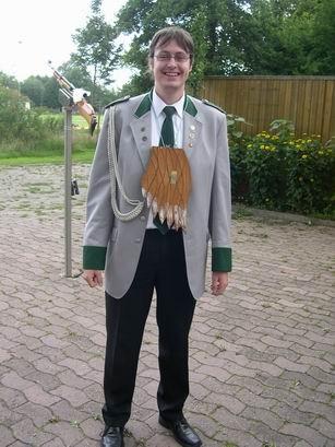Da ist er, der 2. Ritter 2007, Sven Otto.