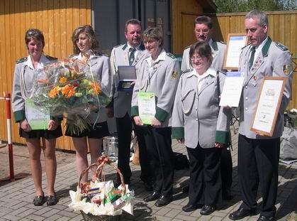 Anja Famulla, Meike Wiebesiek, Peter Otto, Gabi Wiebesiek, Kurt Halstenberg, Tanja Klingenhagen, Andreas Wiebesiek