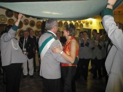 Der Ehrentanz eröffnet nach alter Tradition den Ball.