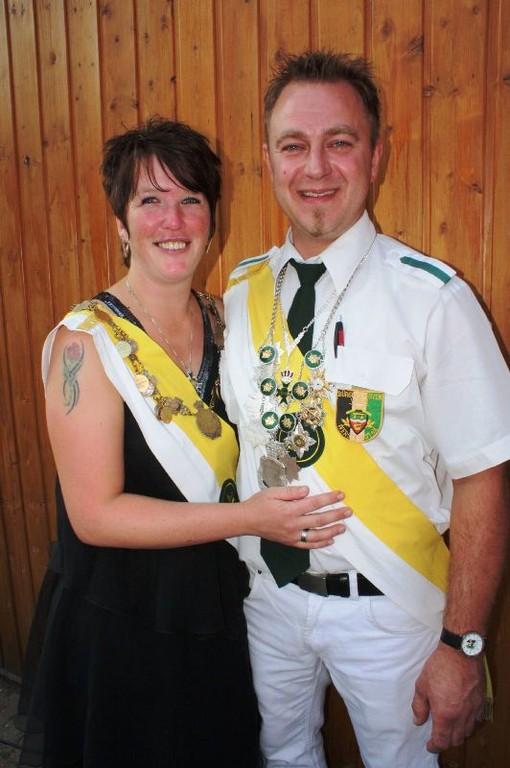 Anja und Marko, unser Gildekönigpaar 2010/2011