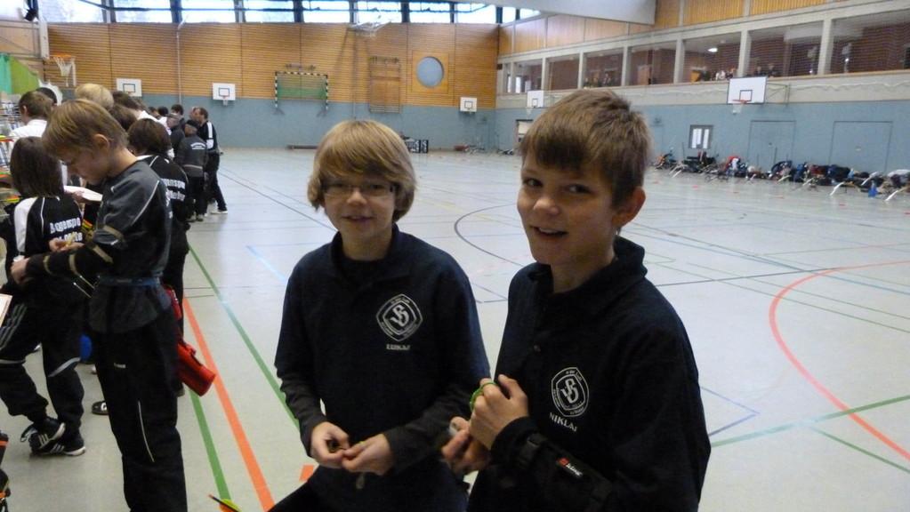 Die Jungens aus dem Schnathorster Verein