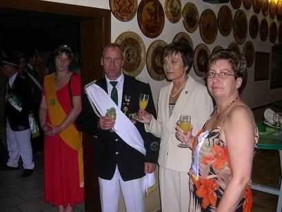Herr und Frau Vorsitzende im Gespräch mit der stellvertretenden Bürgermeisterin Frau Kaase