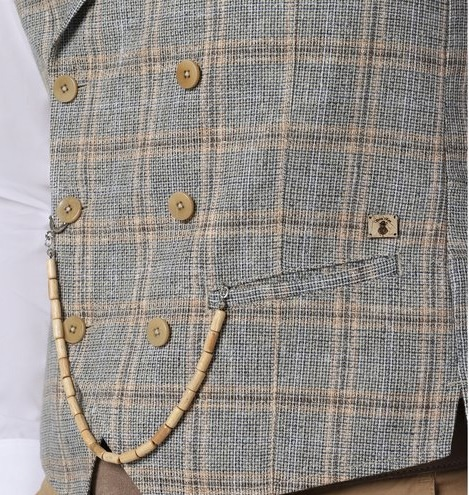 Savile Row Weste Mathew Für den stilsicheren und gepflegten Auftritt :: Die Weste Mit Oberstoffrücken und Reverskragen ist die alternative uns steht dem klassischen Anzug in nichts nach.