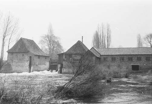 Hochwasser in den 60er Jahren
