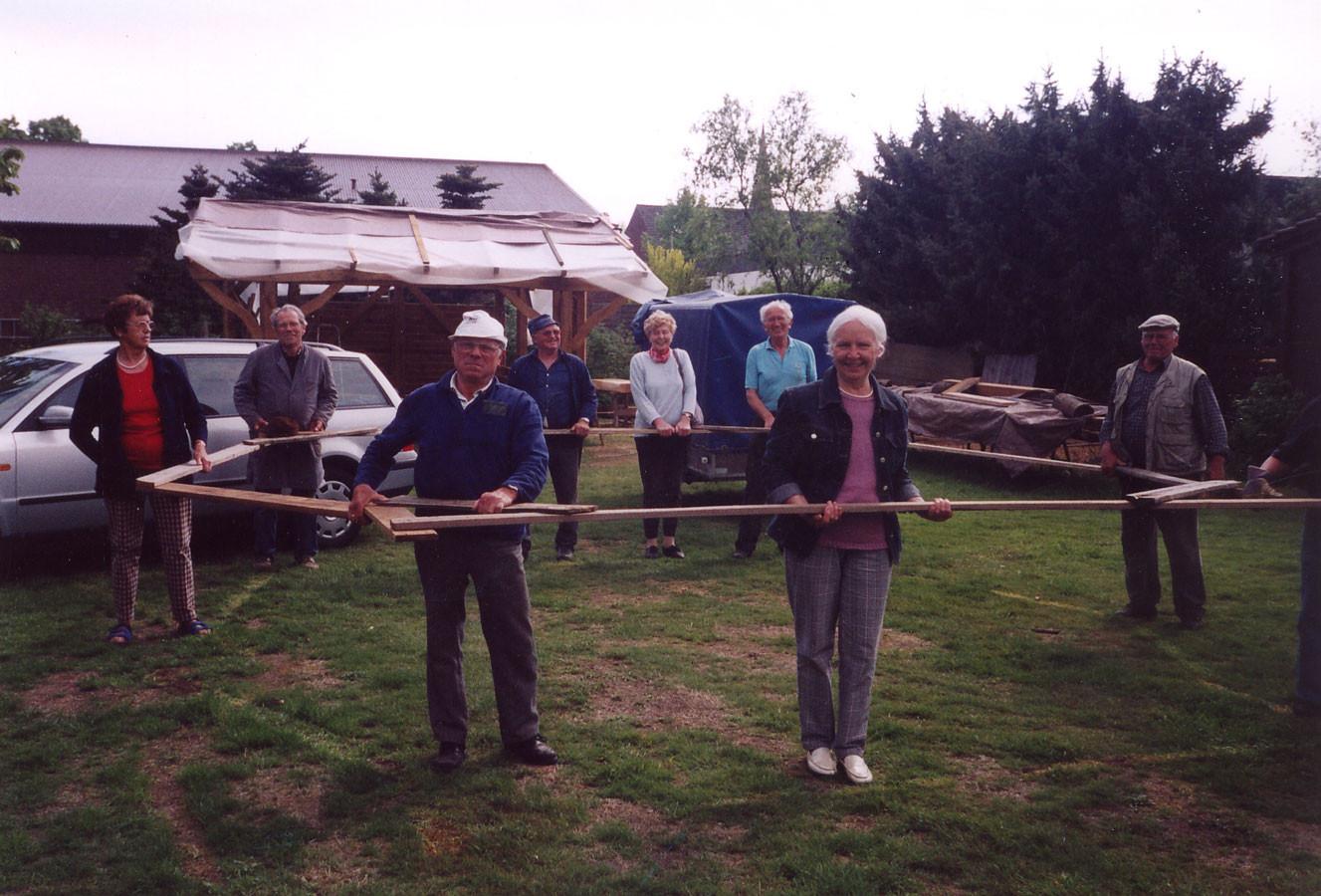 Das ist der Grundriss der Hütte. Jetzt zum Kanal.