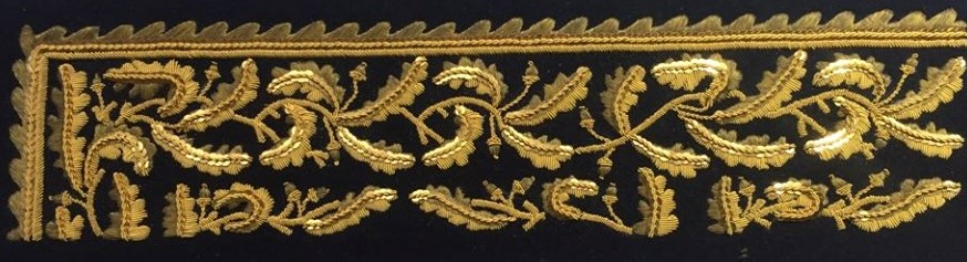 broderie or uniforme de General de la brigade 1837 Louis Philippe