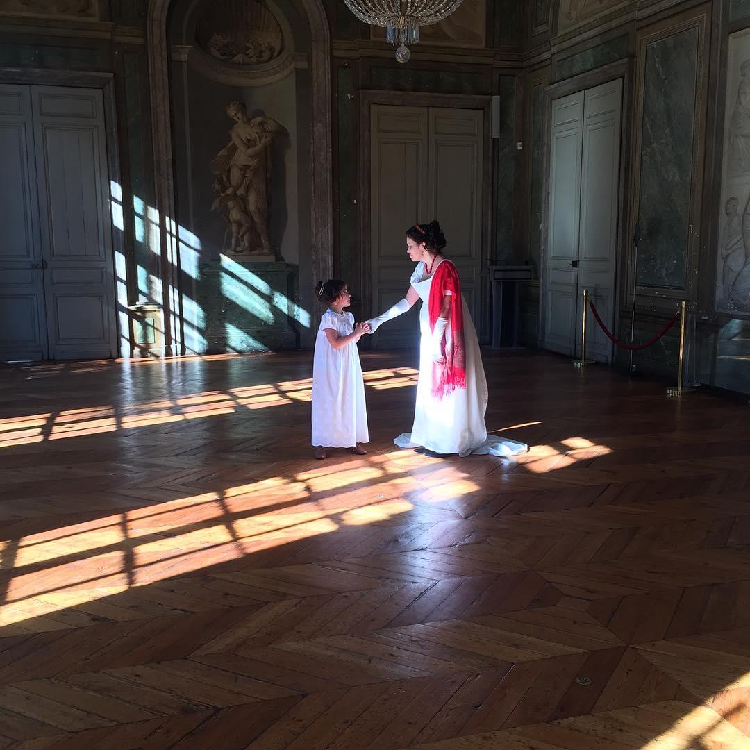 Nos costumes aux Journées du Patrimoine Au Palais Rohan à Bordeaux