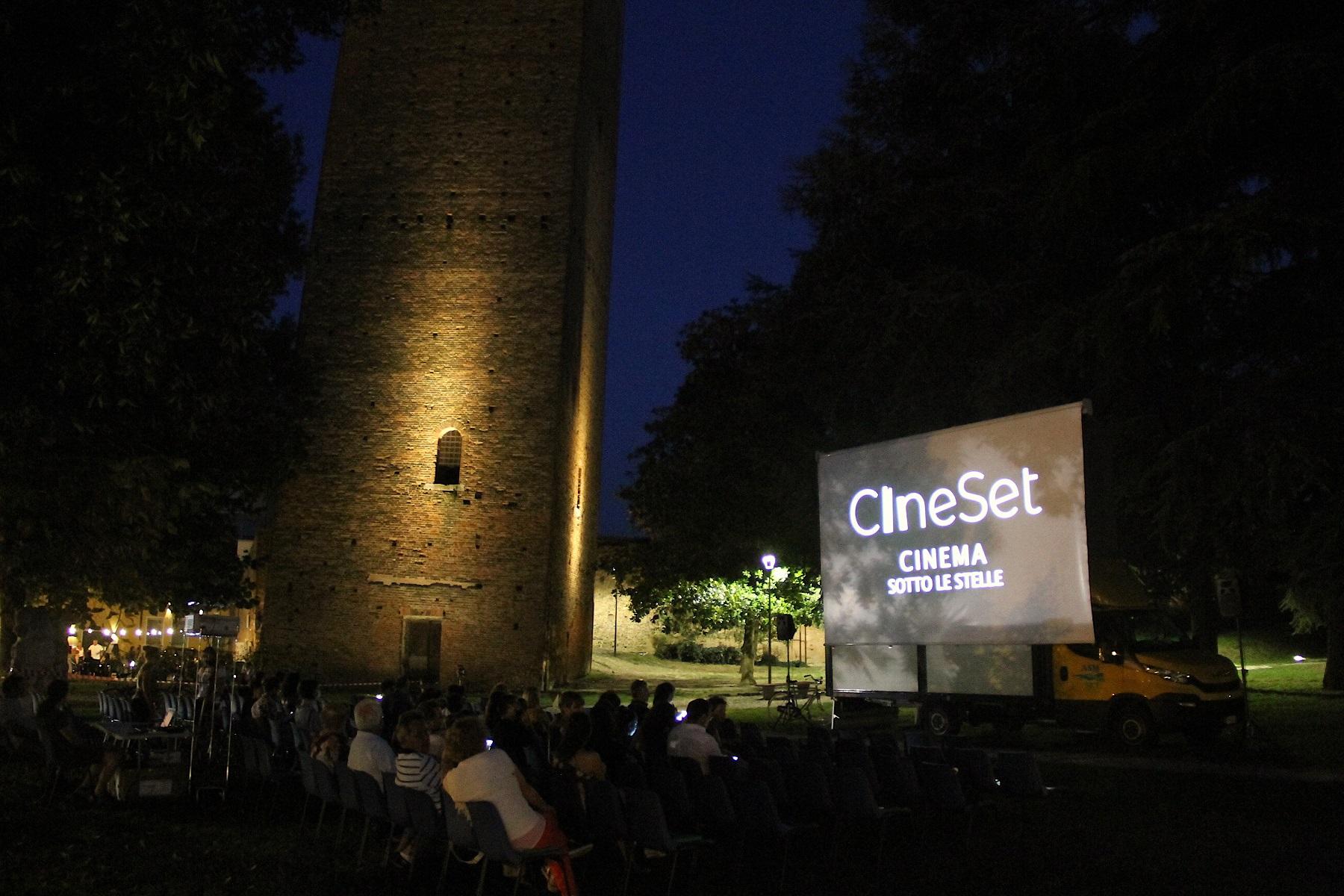 Al via la rassegna Cineset il cinema estivo in città