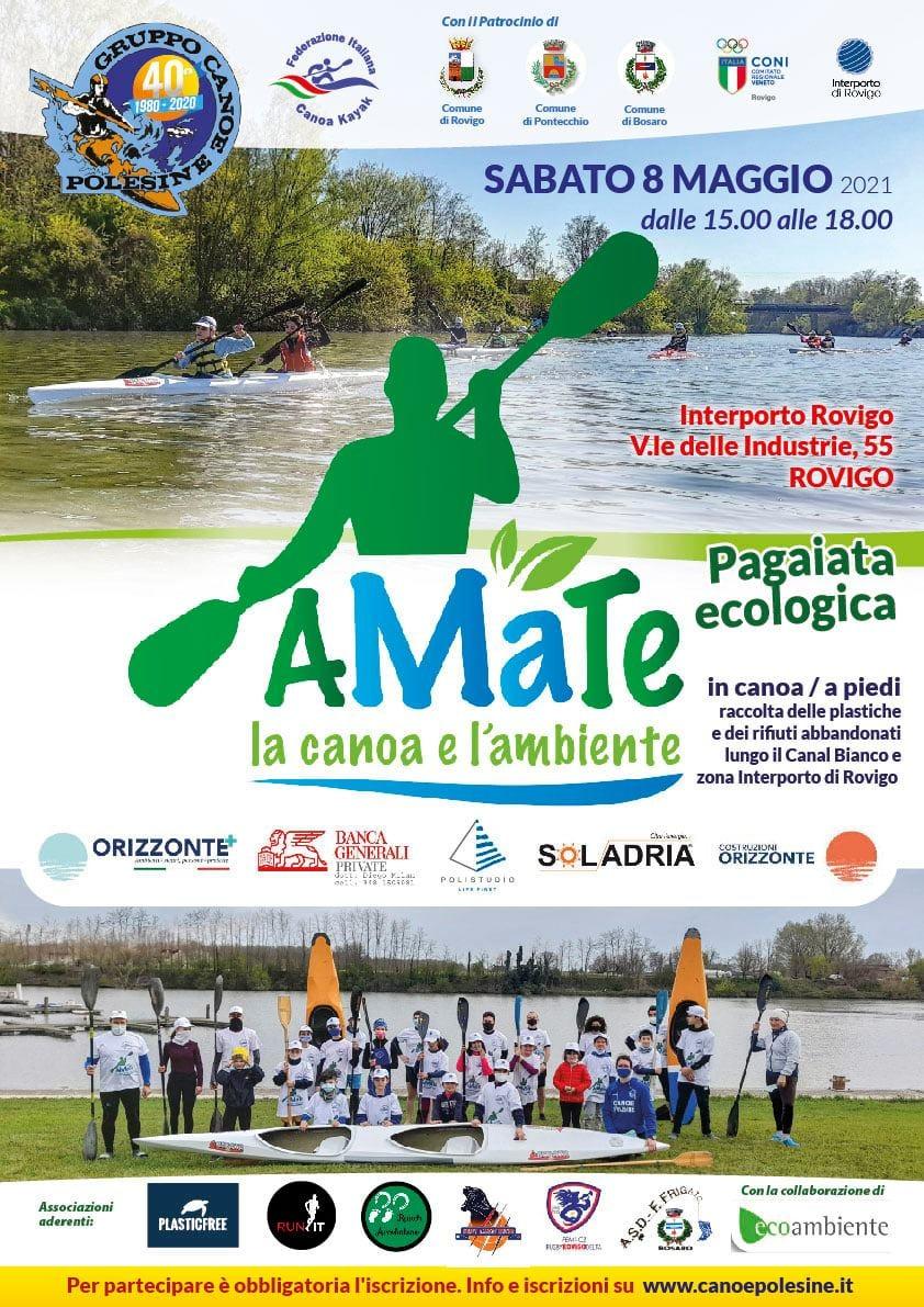 Una campagna ecologista per ripulire gli argini del Canalbianco