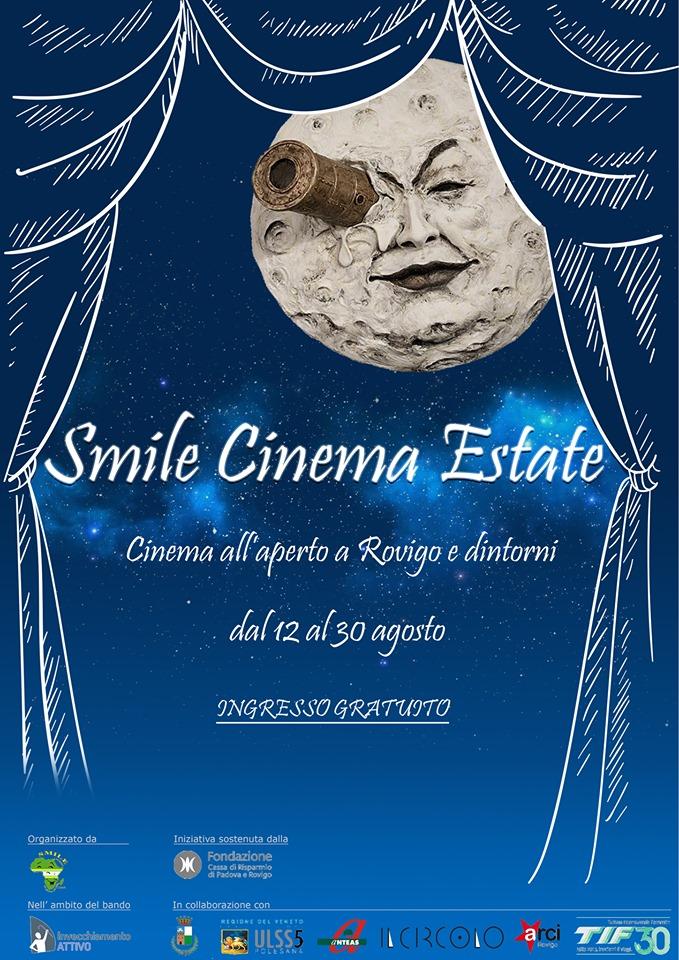 I Rodigini Calendario.Smile Cinema Estate La Rassegna Cinematografica Itinerante