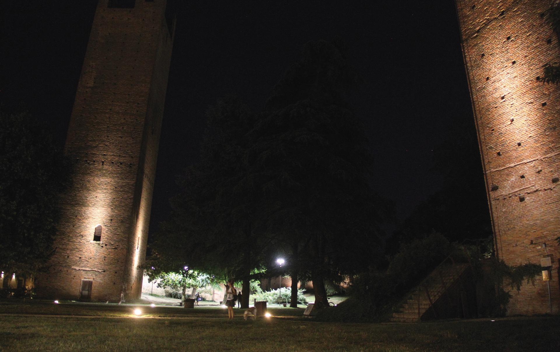 Rovigo illuminazione potenziate in tutto il territorio