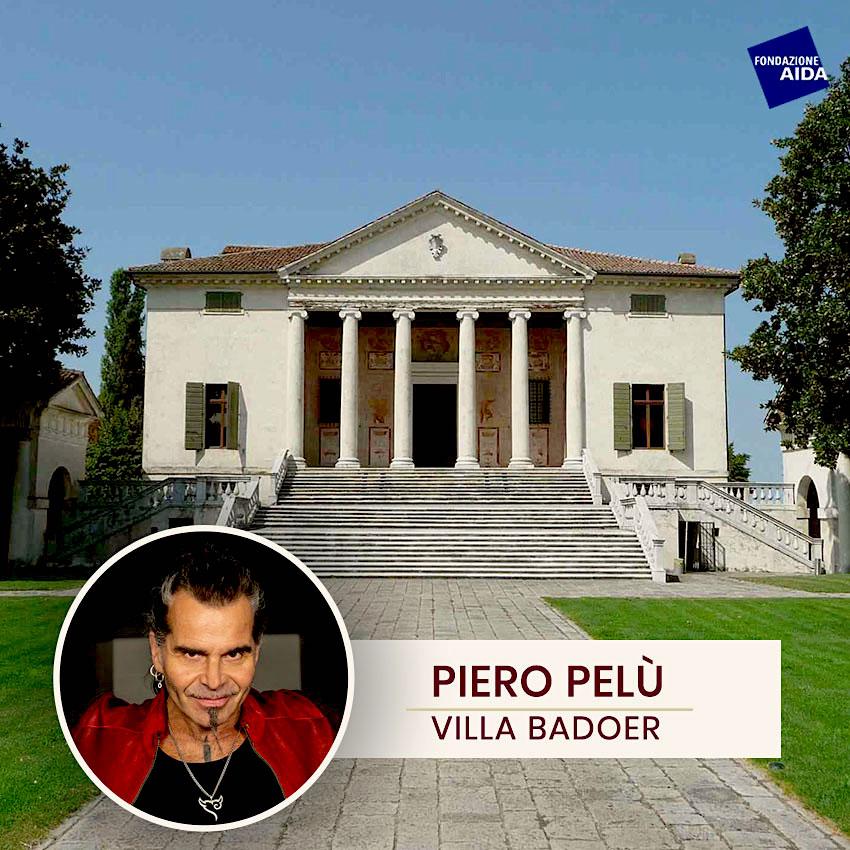 Piero Pelù in Villa Badoer presenta Spacca l'Infinito