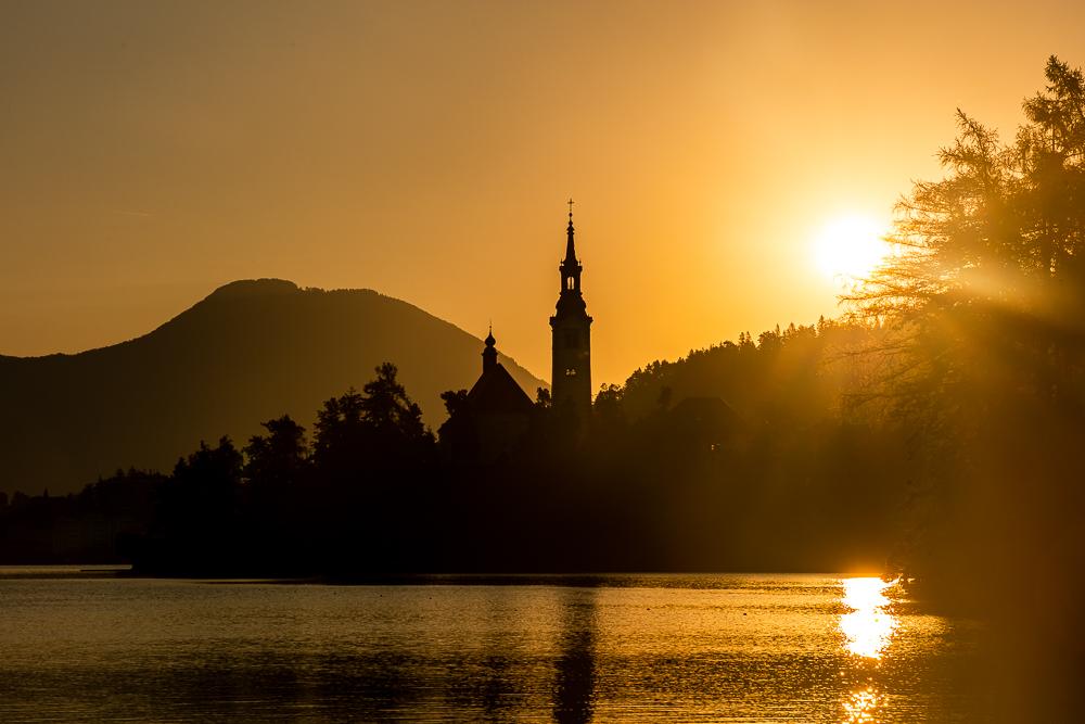 Bled und Bleder See (Slowenien)