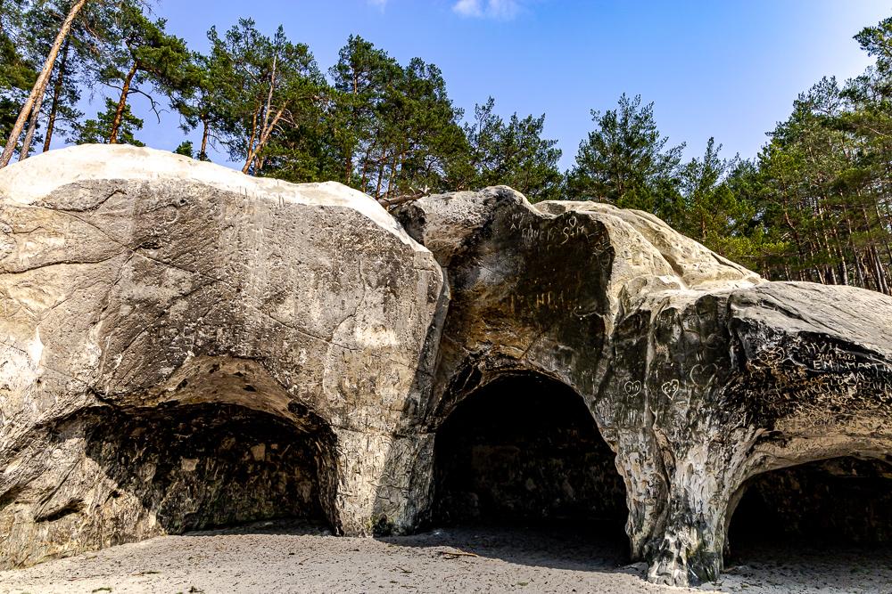 Sandhöhlen im Heers (Blankenburg/Harz)