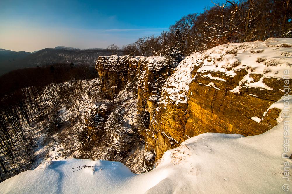 Hohenstein im Winter