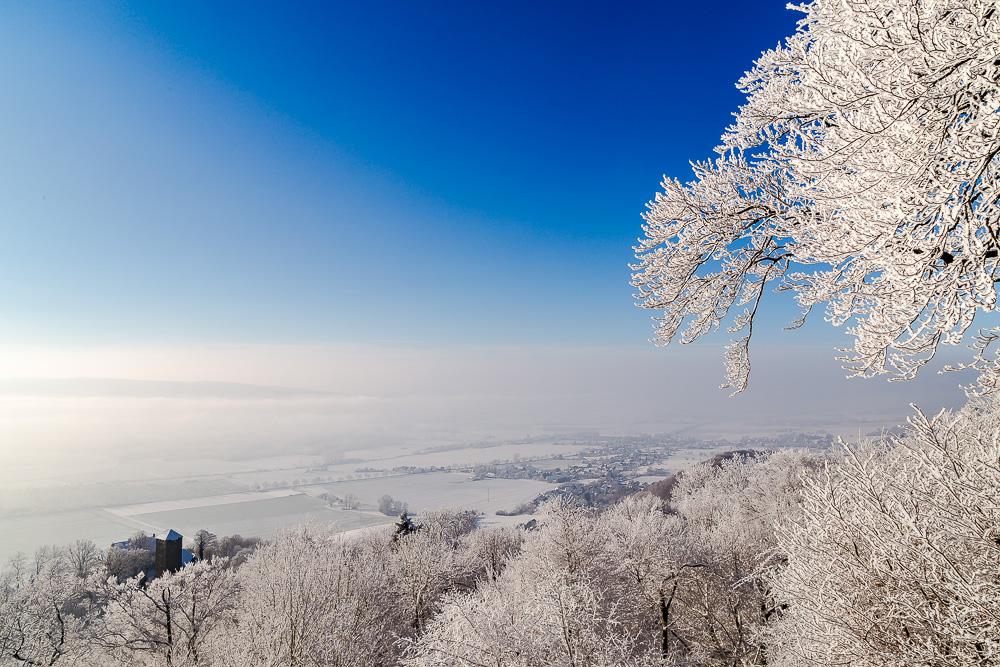 Winterlandschaft im Weserbergland
