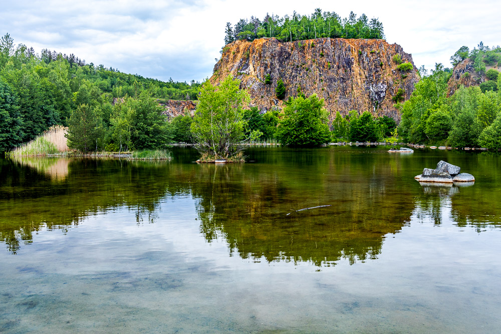 Diabas-Steinbruch bei Wolfshagen (Harz)