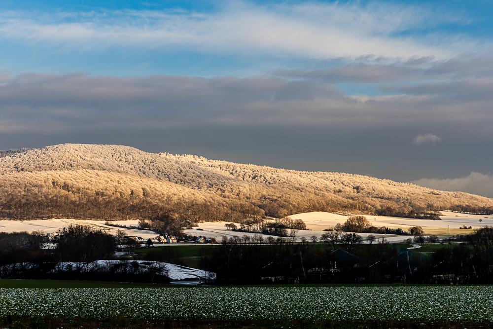 Schneelandschaften am Süntel