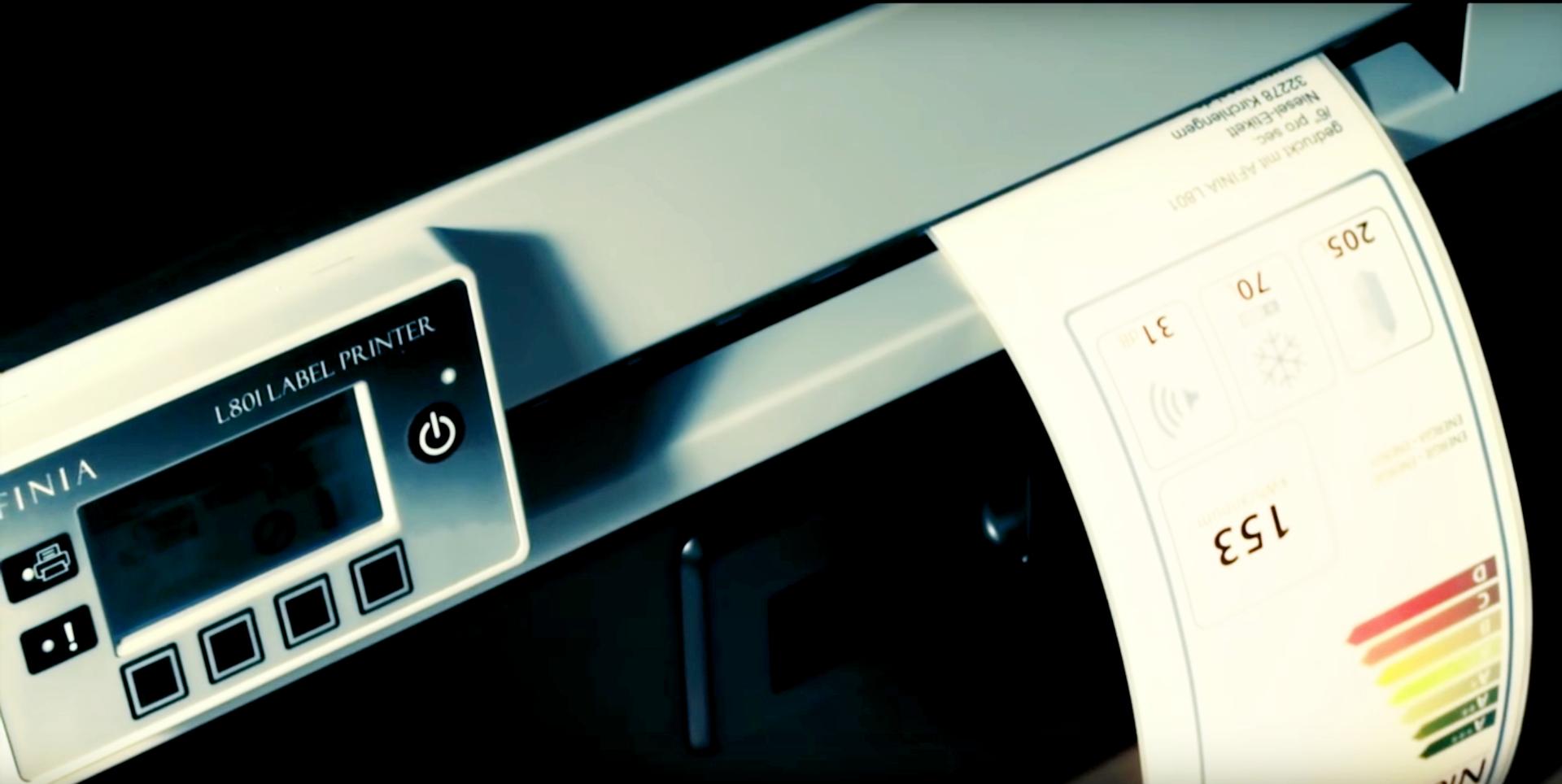 L801: der Qualitäts-Farbetikettendrucker von Afinia