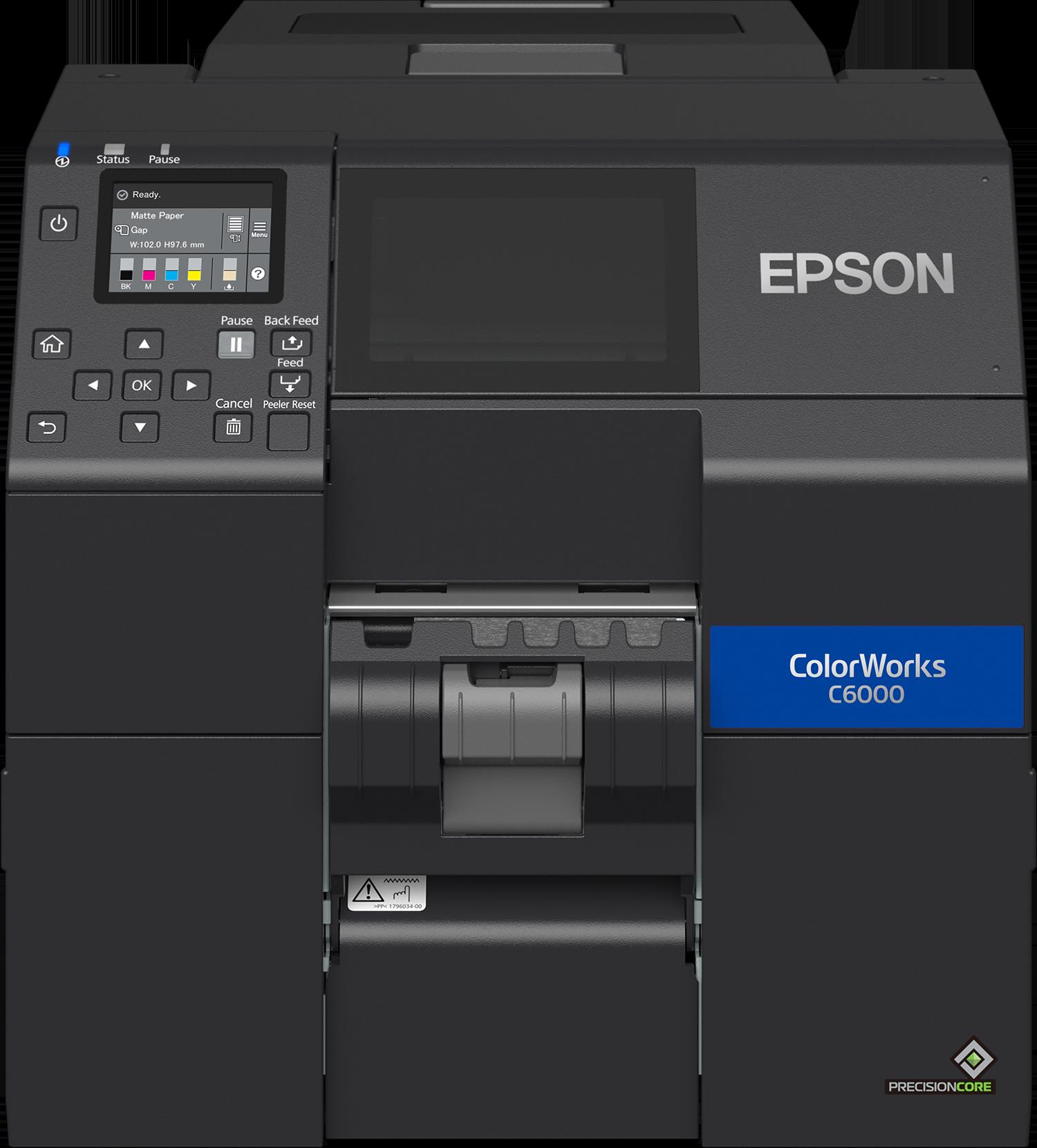 Epson ColorWorks C6000-PE mit Peeler