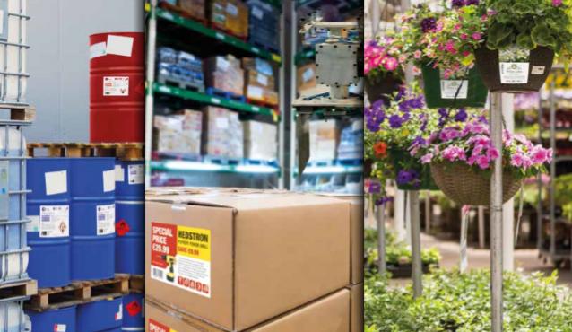 Druckbeispiele Epson ColorWorks C6XXX - Gefahrengut, Logistik und Grüne Branche
