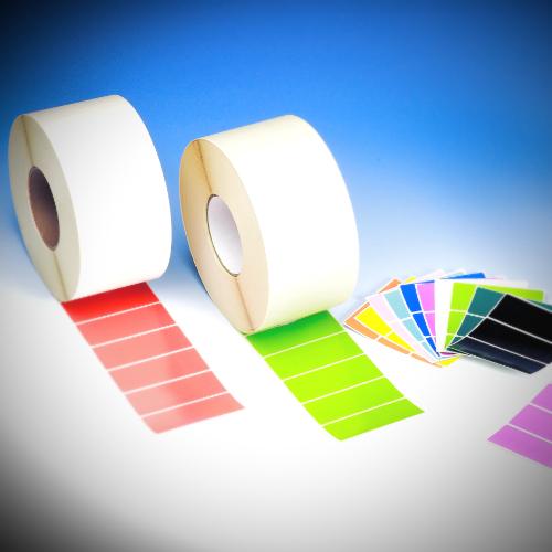 selbstklebende Etiketten: Rollenware (ausgestanzt)