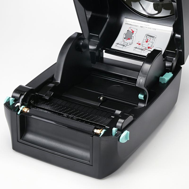 RT700iW Clamshell-Technologie für schnellen Rollenwechsel