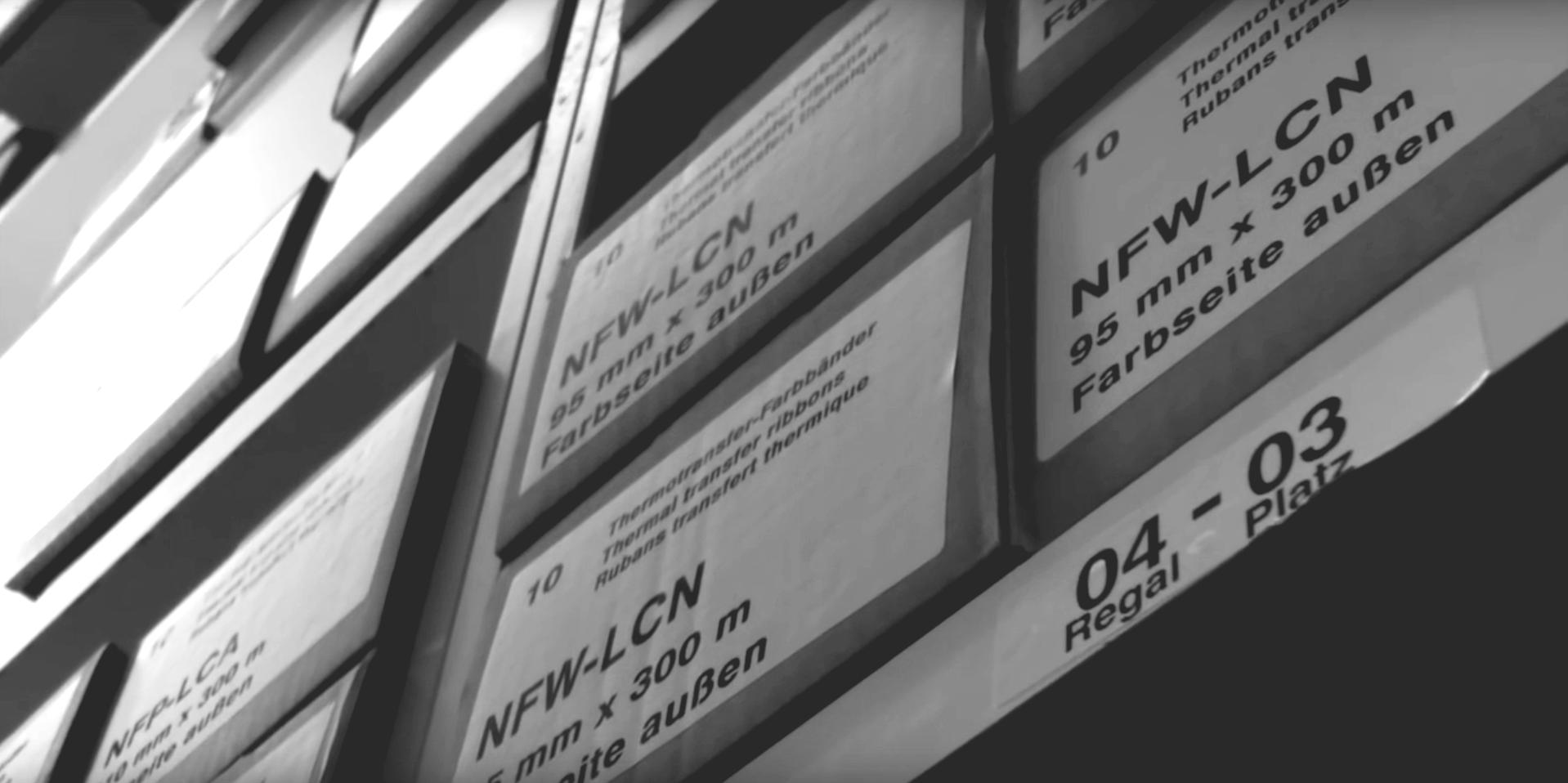 Mit Lagerkennzeichnung optimieren wir Ihr Etikettenlager