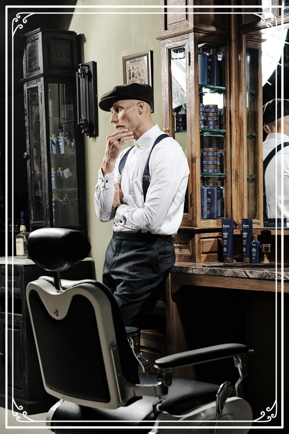 Ordinaire We Have The Quality Handcrafted Barber Furniture Based On The Furniture  From The Early Years That Will Turn ...