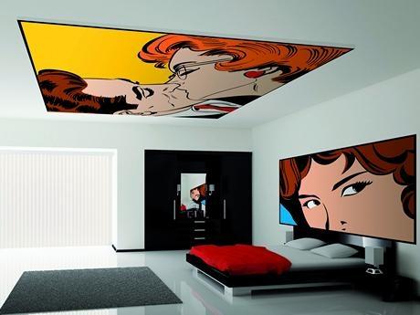 Deckenbilder für Schlafzimmer