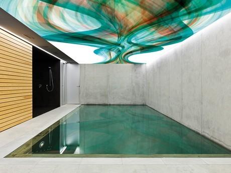 Deckenbilder für Schwimmbäder