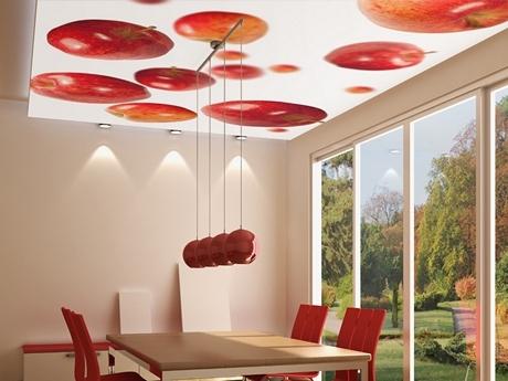 Beleuchtete Deckenbilder für die Küche
