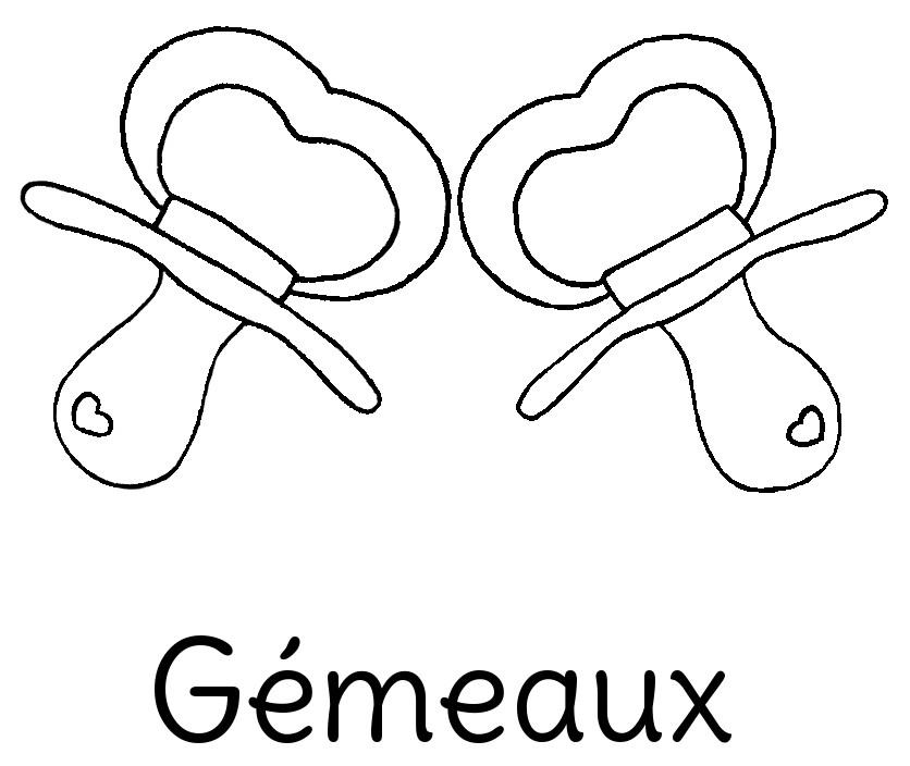 Dessin original Le Chaton et sa Poulette du signe astrologique Gémeaux