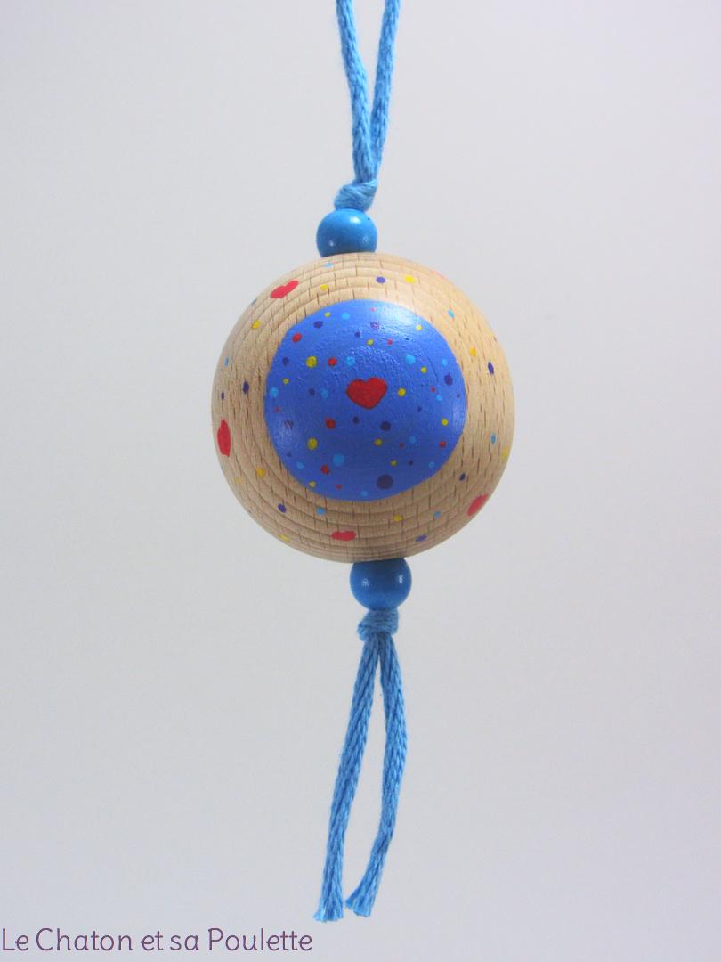 Boule bleue AMEL - Le Chaton et sa Poulette