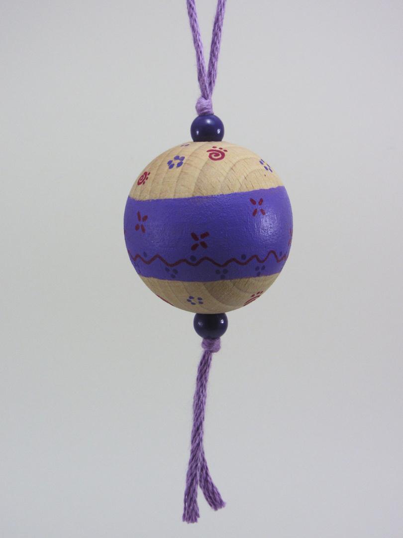 Verso Boule violette RIRE (violet/rouge) - Le Chaton et sa Poulette
