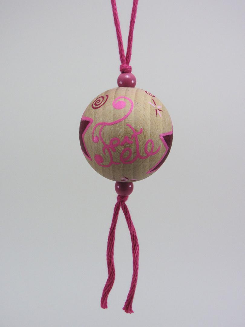 Boule fuchsia FÊTE RÊVE (fuchsia/rose) - Le Chaton et sa Poulette