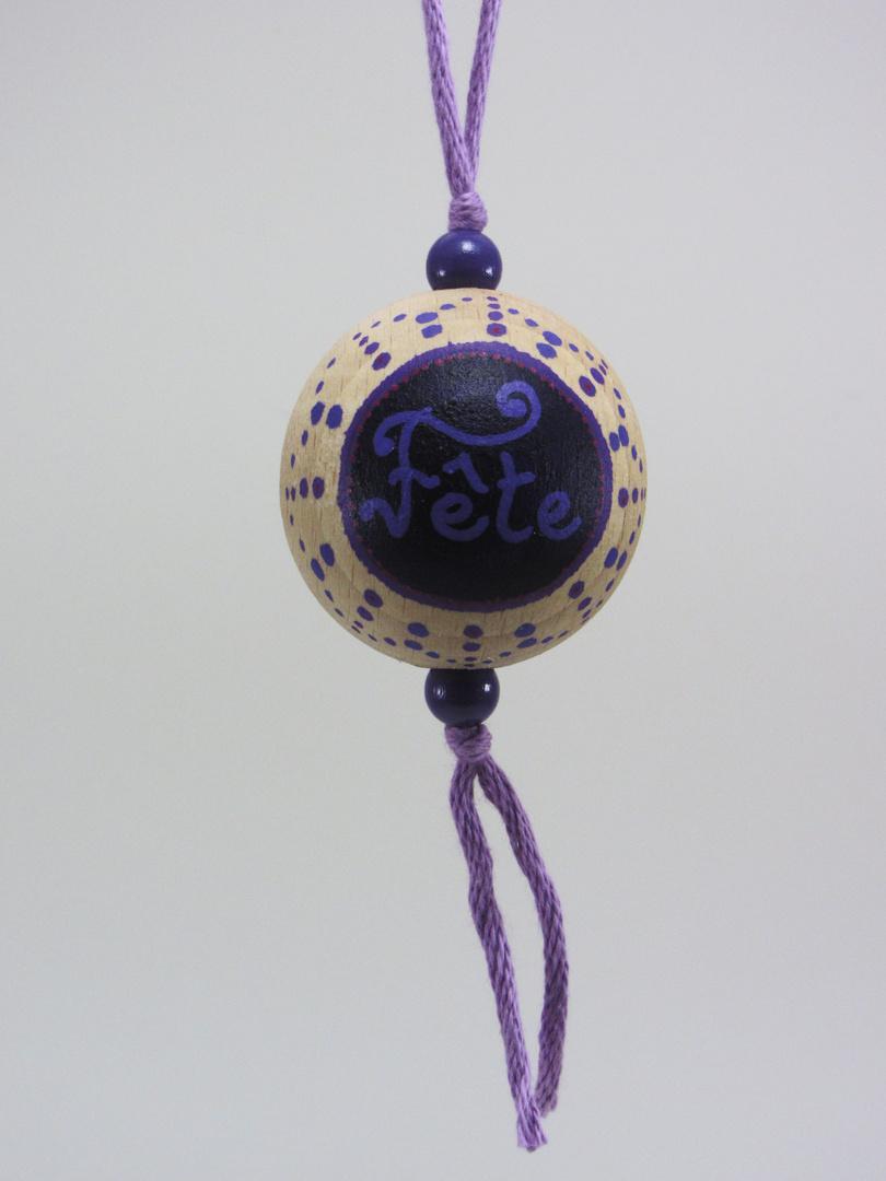 Boule violette FÊTE (violet) - Le Chaton et sa Poulette