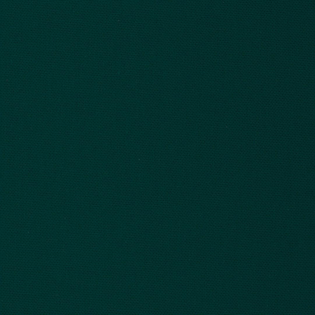 Vert émeraude - Tissu uni chez Le Chaton et sa Poulette