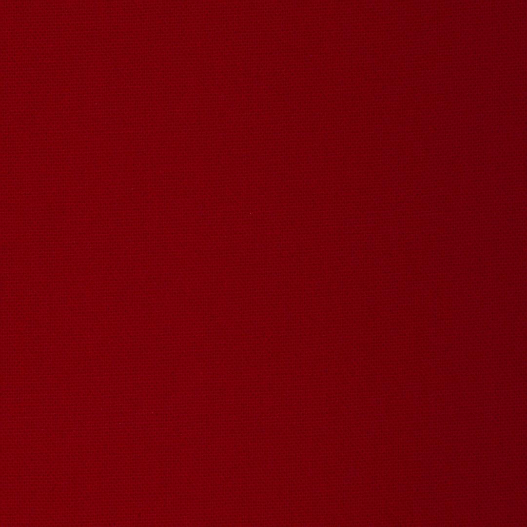 Rouge - Tissu uni chez Le Chaton et sa Poulette
