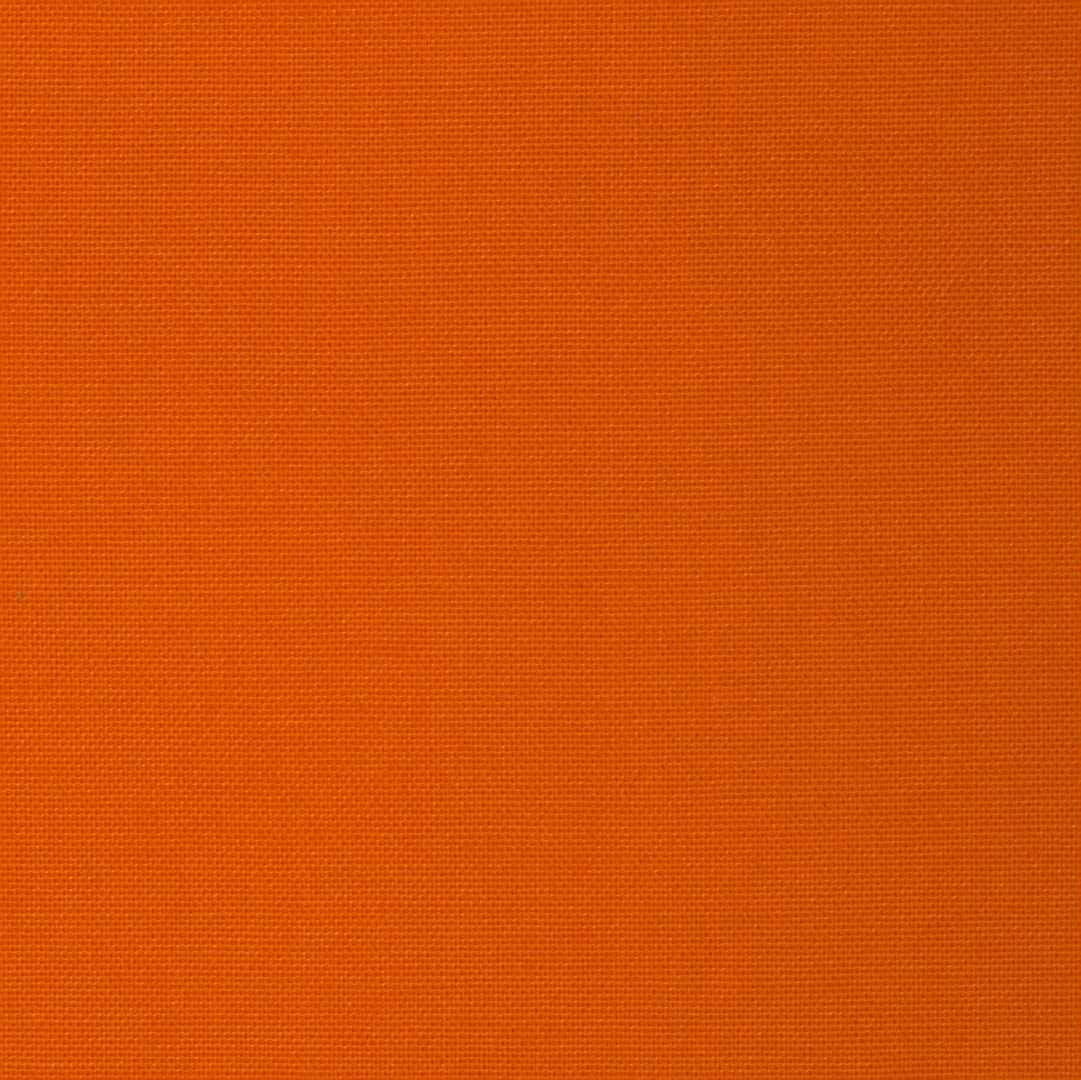 Orange - Tissu uni chez Le Chaton et sa Poulette