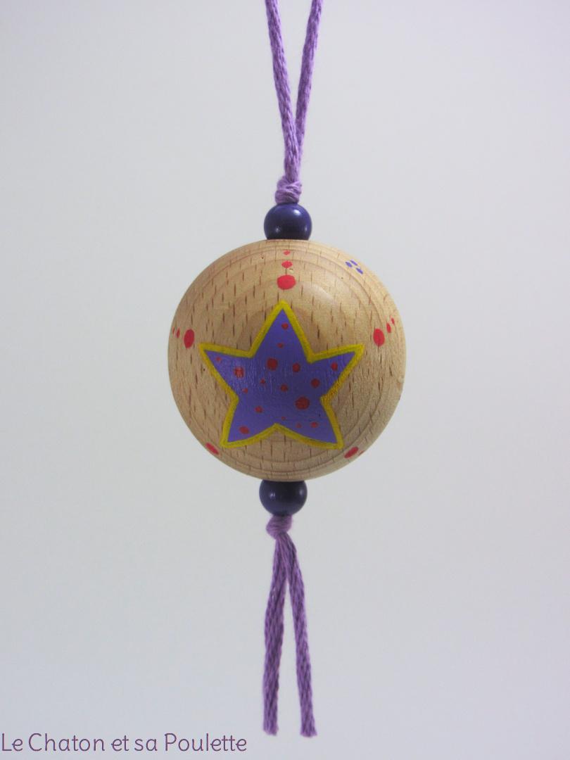 Boule violette MARC - Le Chaton et sa Poulette