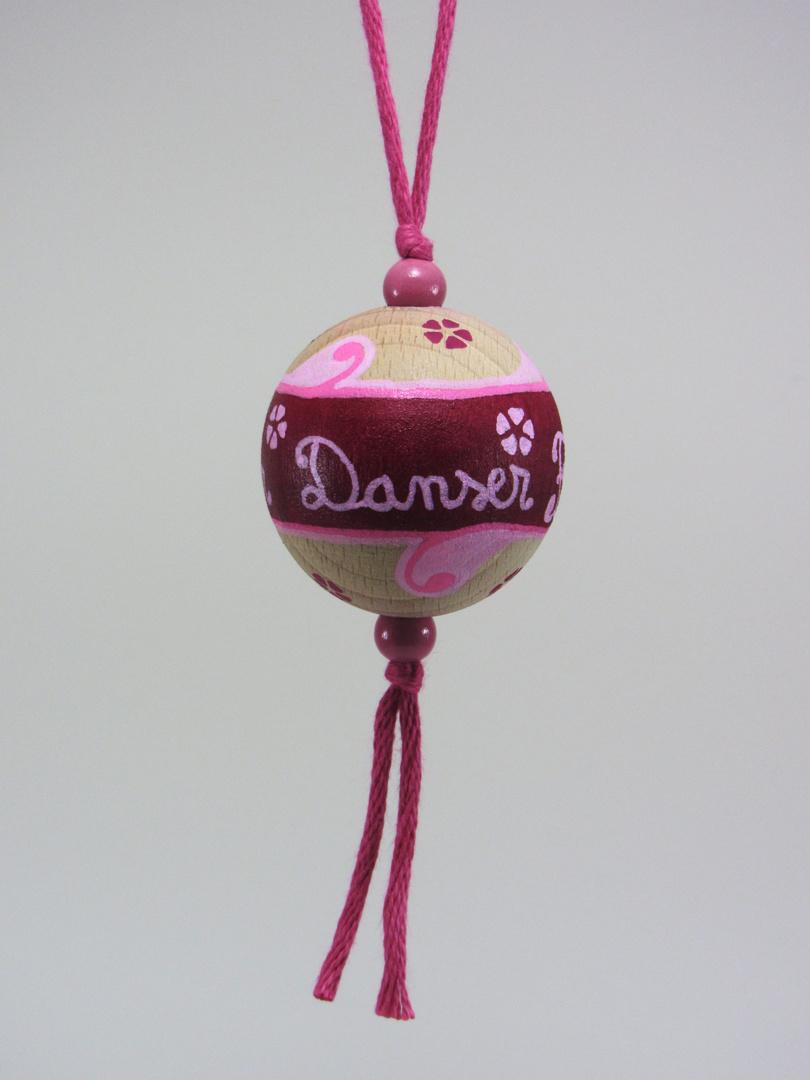 Boule fuchsia DANSER CHANTER FÊTE (fuchsia/rose) - Le Chaton et sa Poulette