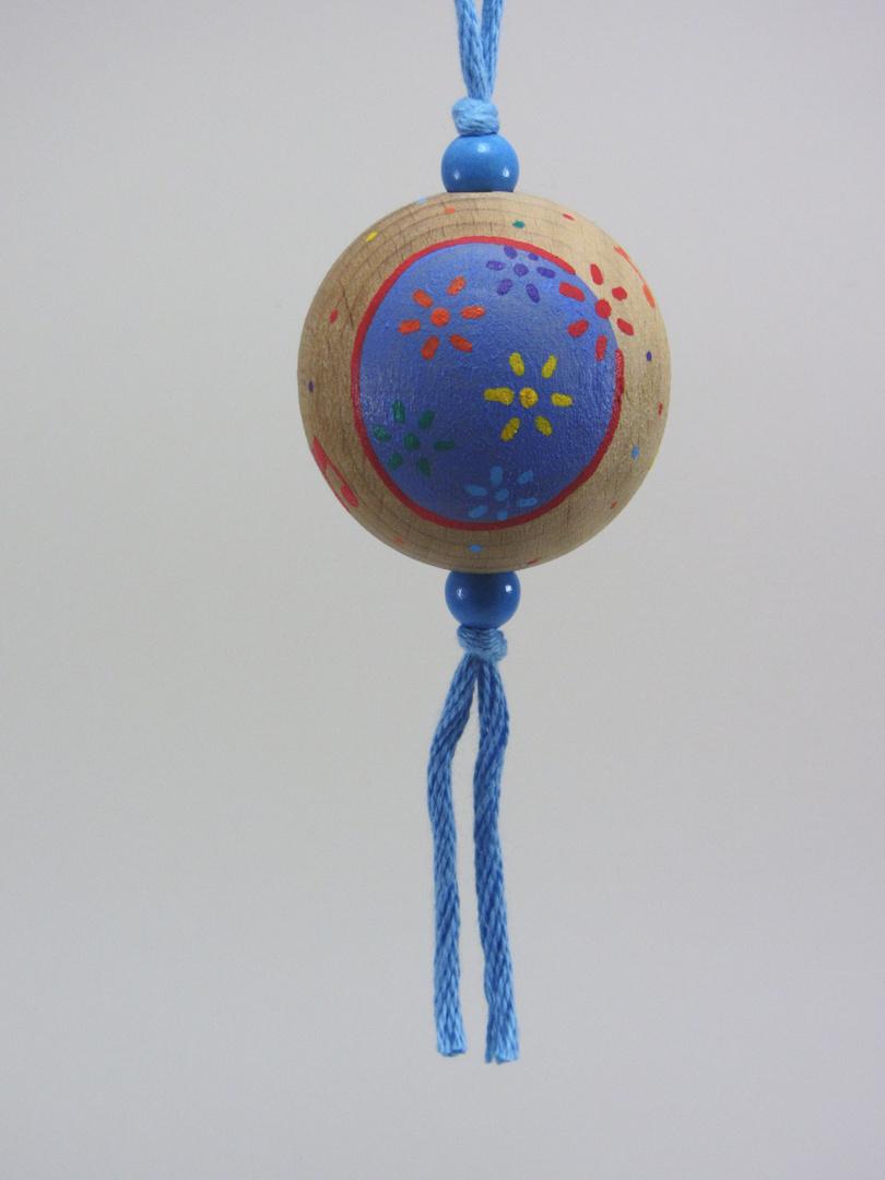 Verso Boule bleue FÊTE (bleu/rouge) - Le Chaton et sa Poulette