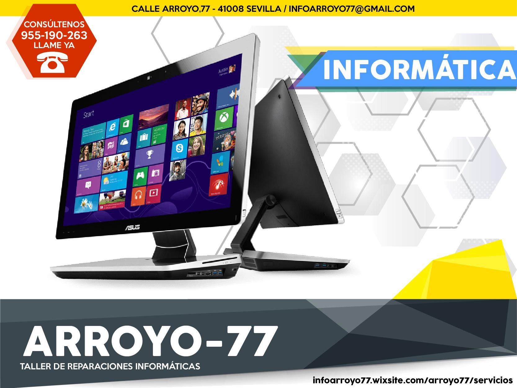 Arroyo77 tienda informática