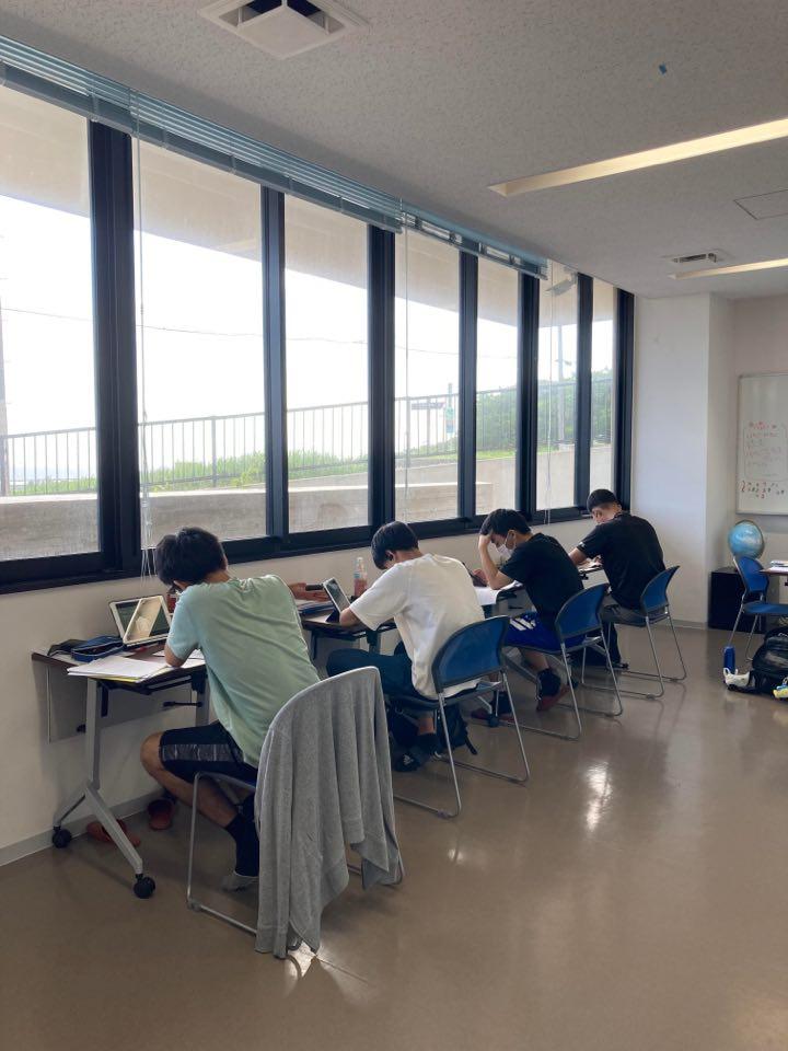 夏が始まった学習センター