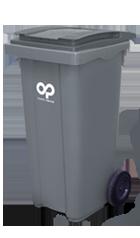 Contenedor de basura 120 L